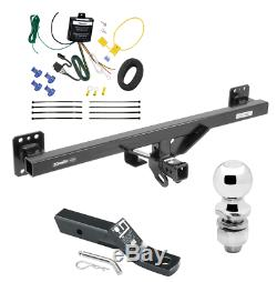 Trailer Tow Hitch For 07-16 Audi Q7 11-17 Porsche Cayenne with Wiring Kit 2 Ball