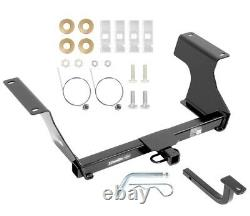 Trailer Tow Hitch For 09-13 Subaru Forester 1-1/4 Receiver with Draw Bar Kit