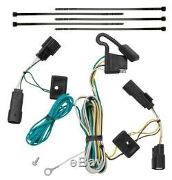 Trailer Tow Hitch For 09-20 Ford Flex Complete Package with Wiring Kit & 2 Ball