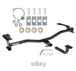Trailer Tow Hitch For 10-12 Ford Fusion Lincoln MKZ Milan with Draw Bar Kit