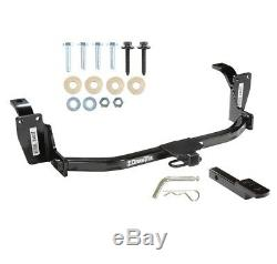 Trailer Tow Hitch For 10-15 Honda Accord Crosstour Receiver with Draw Bar Kit
