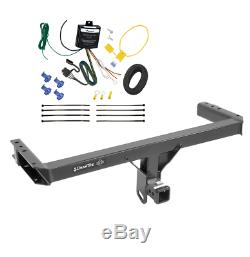 Trailer Tow Hitch For 11-12 Audi Q5 15-17 Porsche Macan with Wiring Harness Kit