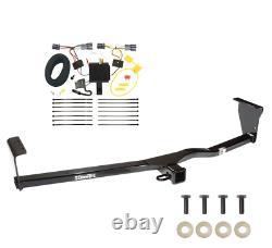 Trailer Tow Hitch For 11-13 KIA Sorento 4 Cyl. I4 Receiver + Wiring Harness Kit