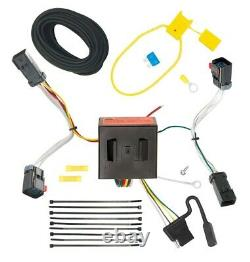 Trailer Tow Hitch For 11-17 Jeep Compass Complete Package withWiring Kit & 2 Ball