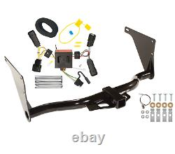Trailer Tow Hitch For 13-16 Ford Escape All Styles with Wiring Harness Kit