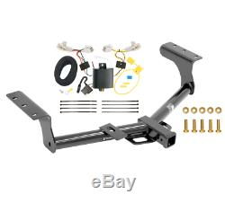 Trailer Tow Hitch For 13-18 Toyota RAV4 All Styles with Wiring Harness Kit