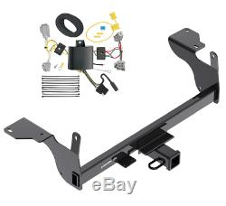 Trailer Tow Hitch For 14-17 Volvo XC60 All Styles Receiver with Wiring Harness Kit