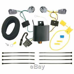 Trailer Tow Hitch For 14-18 Jeep Cherokee All Styles with Wiring Harness Kit