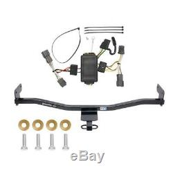 Trailer Tow Hitch For 14-18 KIA Soul without LED Taillights + Wiring Harness Kit