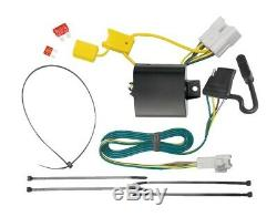 Trailer Tow Hitch For 14-19 Toyota Highlander All Styles with Wiring Harness Kit