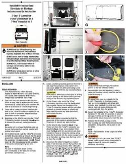 Trailer Tow Hitch For 14-20 RAM ProMaster 1500 2500 3500 with Wiring Kit & 2 Ball