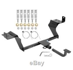 Trailer Tow Hitch For 15-19 Ford Mustang 1-1/4 Receiver with Draw Bar Kit