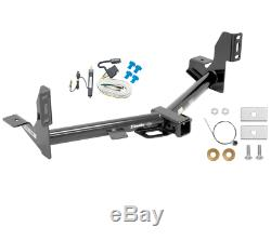 Trailer Tow Hitch For 15-20 Ford F150 All Styles with Wiring Harness Kit