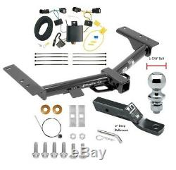 Trailer Tow Hitch For 15-20 Ford Transit 150 250 350 with Wiring Kit & 1-7/8 Ball