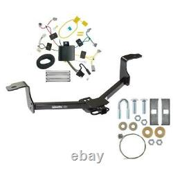 Trailer Tow Hitch For 16-17 Honda Accord Sedan with Wiring Harness Kit