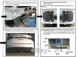Trailer Tow Hitch For 16-18 Tesla X Complete Package with Wiring Kit & 2 Ball