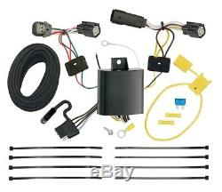 Trailer Tow Hitch For 17-18 Ford Escape All Styles with Wiring Harness Kit