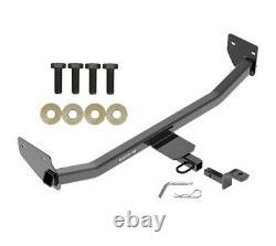 Trailer Tow Hitch For 17-20 Hyundai Ioniq Hybrid 1-1/4 Receiver with Draw Bar Kit