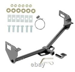 Trailer Tow Hitch For 17-20 Jeep Compass New Body Style Receiver with Draw Bar Kit