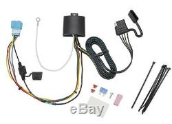 Trailer Tow Hitch For 18-19 Honda Odyssey with Fuse Provisions Wiring Kit 2 Ball