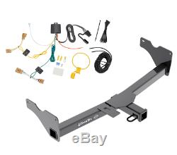 Trailer Tow Hitch For 18-19 VW Volkswagen Tiguan Receiver with Wiring Harness Kit