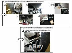 Trailer Tow Hitch For 18-20 Chevy Equinox Premier (Except Diesel) with Wiring Kit