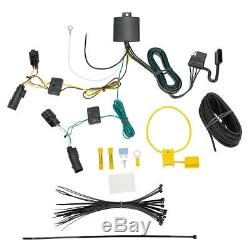 Trailer Tow Hitch For 18-20 GMC Terrain Diesel with Wiring Harness Kit Plug & Play