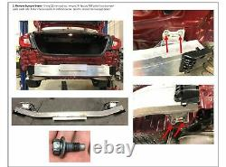 Trailer Tow Hitch For 18-20 Honda Accord All Styles Class 1 with Drawbar Kit