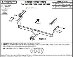 Trailer Tow Hitch For 2021 Nissan Rogue Class 3 with Wiring Harness Kit