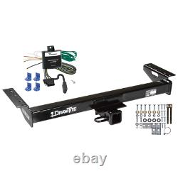 Trailer Tow Hitch For 84-96 Jeep Cherokee Wagoneer with Wiring Harness Kit