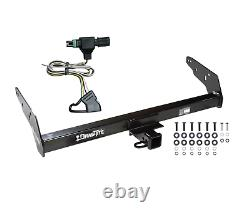 Trailer Tow Hitch For 85-97 Chevy S10 GMC S15 Hombre withStep Bumper with Wiring Kit