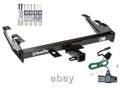 Trailer Tow Hitch For 88-00 GMC C/K 1500 2500 3500 Receiver + Wiring Kit