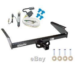 Trailer Tow Hitch For 90-05 Chevy Astro GMC Safari Extended Body with Wiring Kit