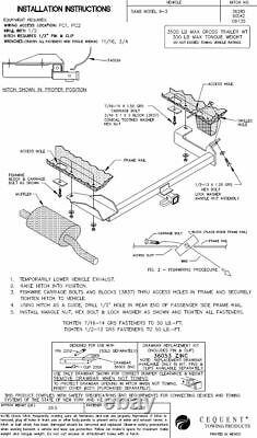 Trailer Tow Hitch For 99-03 Saab 9-3 1-1/4 Receiver Class 2 with Draw Bar Kit